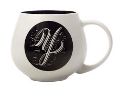 "The Letterettes Snug Mug 450ML ""Y"" Gift Boxed"