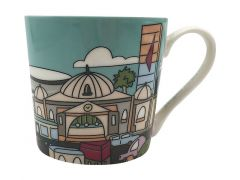 Megan McKean Cities Mug 430ML Melbourne Gift Boxed