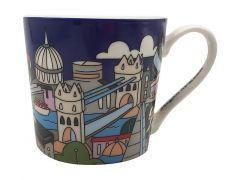 Megan McKean Cities Mug 430ML London Gift Boxed