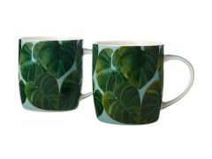 Haven Dendron Mug 380ML Set of 2 Aqua Gift Boxed