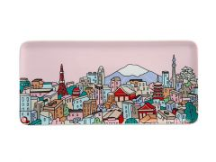 Megan McKean Cities Rectangle Plate 25x12cm Tokyo Gift Boxed