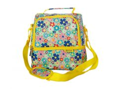 Kasey Rainbow Be Kind Insulated Lunch Bag Flowers
