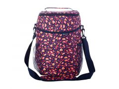 Kasey Rainbow Be Kind Insulated Picnic Cooler Bag Leopard