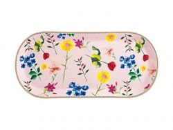 Teas & C's Contessa Oblong Platter 42x19.5cm Rose