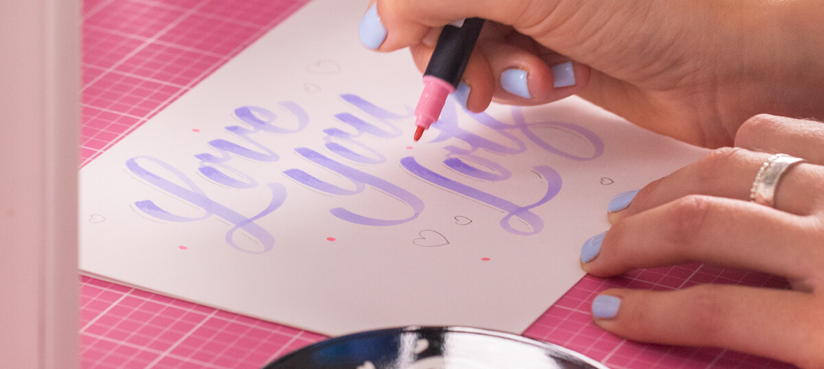 How to hand-letter with Kate from The Letterettes!