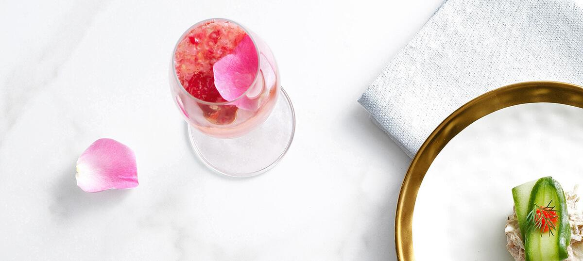 Champagne Rose Cocktail