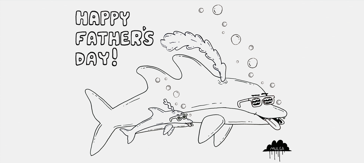 Father's Day Gift Guide & Colour-in Card